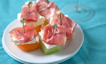 Tartine al melone