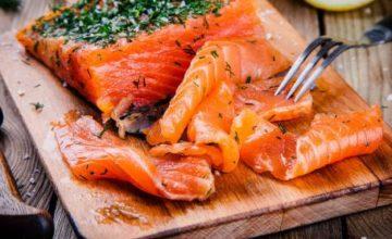Barchette al salmone