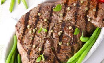 Bistecca al pepe verde