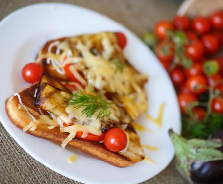 Bruschetta alla parmigiana