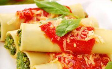 Cannelloni con gli spinaci