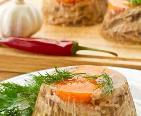 Carne in gelatina