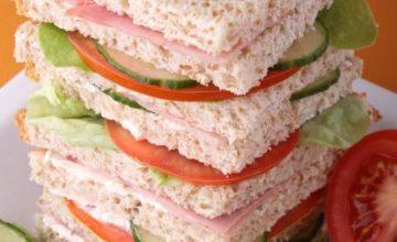 Club sandwich light