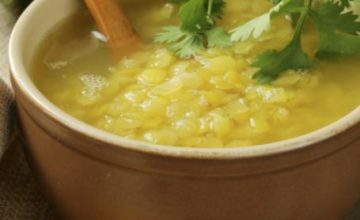 Crema di lenticchie e fagioli