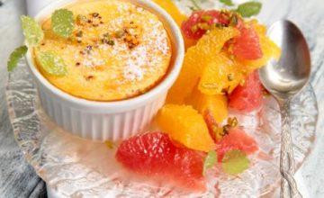 Crème brûlé all'arancia