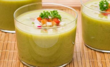 Gazpacho di zucchine