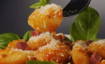 Gnocchi alla pancetta