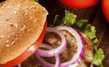 Hamburger con cipolle