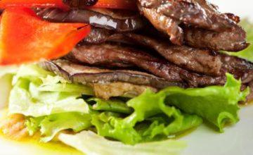 Insalata con roast-beef