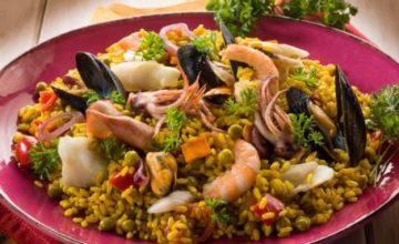 Insalata di riso ai sapori del mare