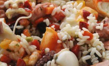 Insalata di riso marinara