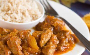 Manzo al curry