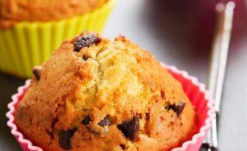 Mini muffin alle gocce di cioccolato