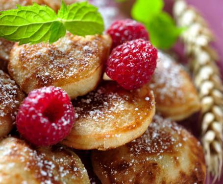 Mini pancakes con la farina di riso