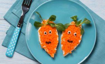 Panini alle carote