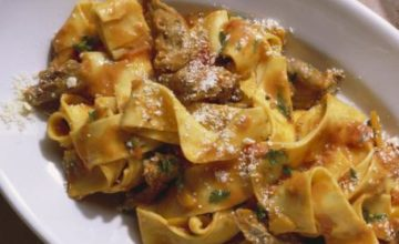 Pappardelle all'aretina