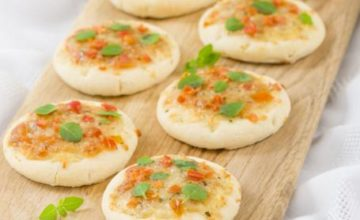 Pizzette al pomodoro fresco