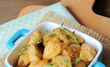 Pollo alla soia con miele e limone