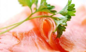 Risotto al salmone