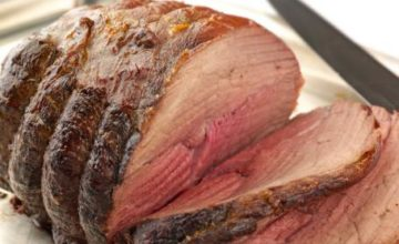 Roast beef alla salsa aurora