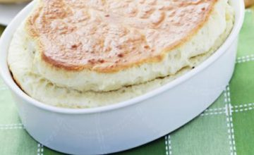 Soufflé all'edamer