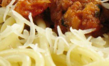 Spaghetti alla salsiccia