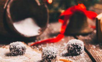 Tartufi natalizi al cocco