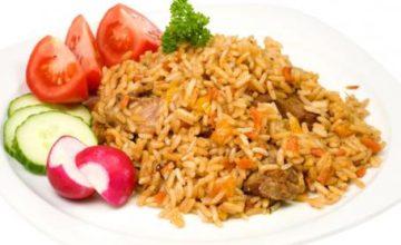 Timballo di riso e pollo