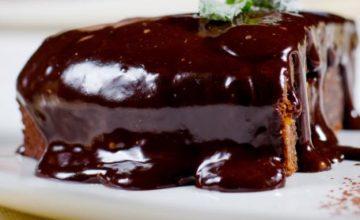 Torta menta e Nutella
