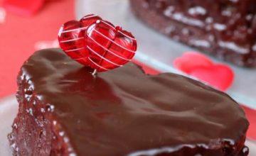 Tortine San Valentino al cioccolato
