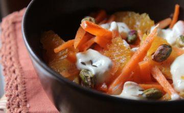 Insalata di carote e arance