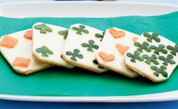 Cracker al formaggio e maionese