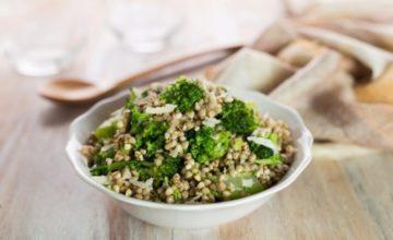 Grano saraceno con i broccoli