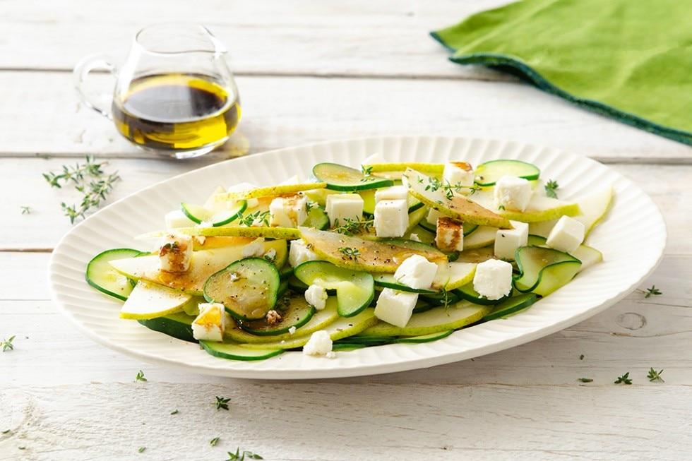 Insalata di cetrioli e pere