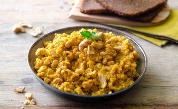 Paté di lenticchie rosse al curry