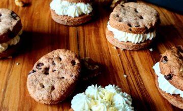 Cookies integrali al cioccolato