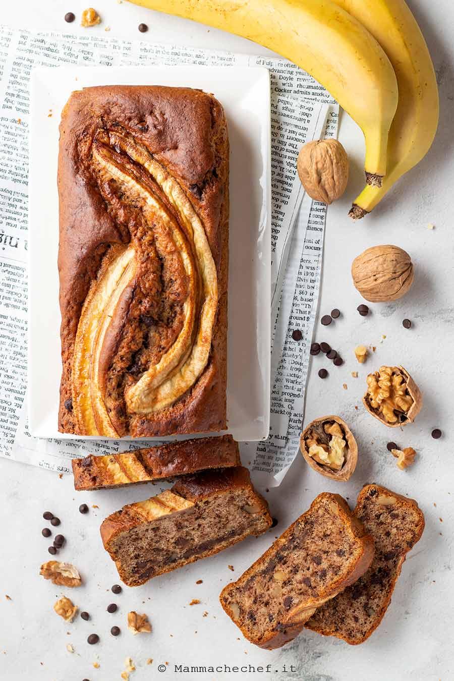 Banana bread vegano