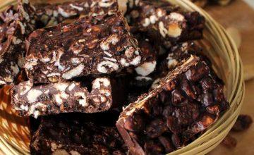 Barrette al cioccolato
