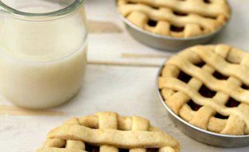 Crostatine con crema di nocciole