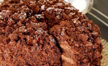 Torta mimosa al cioccolato vegan