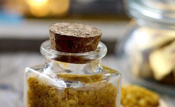 Sale aromatizzato alla curcuma