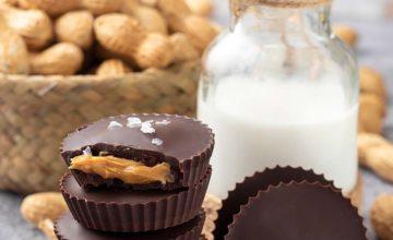 Cioccolatini al burro di arachidi